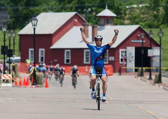 Brian Karlow takes 1st at the Sunday Crit